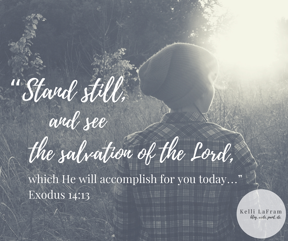 """and see the salvation of the Lord, which He will accomplish for you today…"""" ~Exodus 14_13,"""